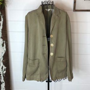J.Jill gray/green jacket